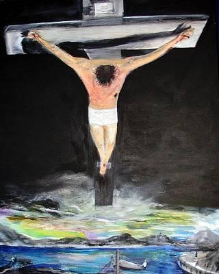 Jesus The Ultimate Sacrifice Original by Rick Todaro