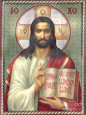Jesus Print by Zorina Baldescu