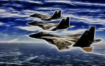 Jets Print by Maciej Froncisz