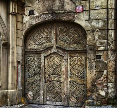 Jewish Quarter Doorway Original by Joan Carroll
