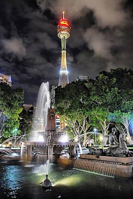 Jf Archibald Memorial Fountain Original by Andrei SKY