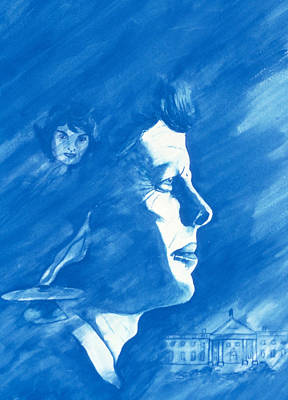 Whitehouse Painting - Jfk Memory by Tina Buechner