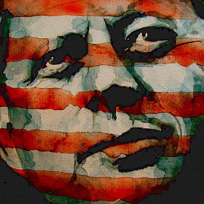 Nose Painting - JFK by Paul Lovering