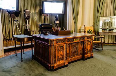 Potus Photograph - Jfk's Oval Office by Alan Marlowe