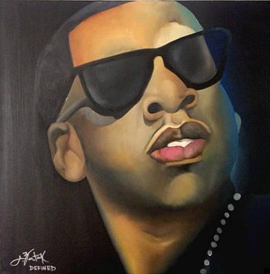 Jay Z Painting - Jigga by Chelsea VanHook