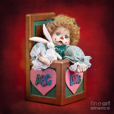 Jill In The Box Print by Cindy Singleton