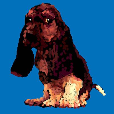 R Allen Swezey Digital Art - Jill Stroked by R  Allen Swezey