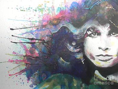 Jim Morrison 02 Print by Chrisann Ellis