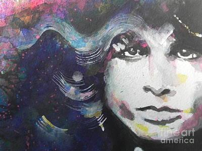 Painting - Jim Morrison 03 by Chrisann Ellis