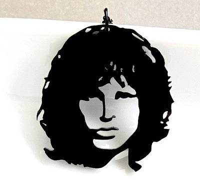 Jim Morrison Necklace Original by Rony Bank