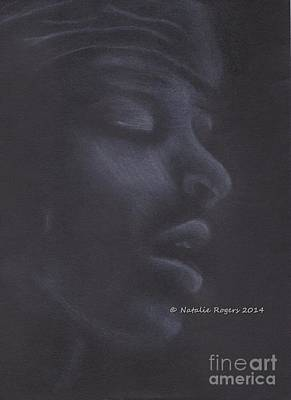 Harlem Drawing - Jimi Hendrix 2 by Natalie Rogers