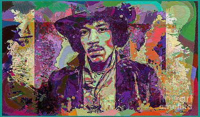 Jimi Hendrix Original by Eleni Mac Synodinos