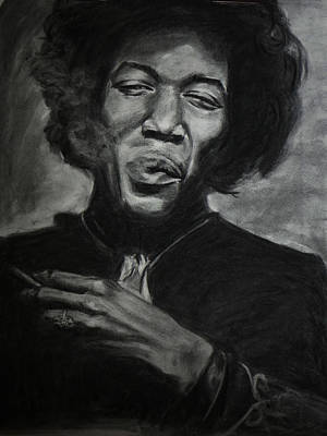 Jimi Hendrix Original by Kira Rubtsova