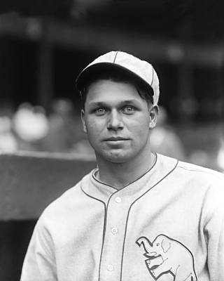 Photograph - Jimmie Foxx Close Up by Retro Images Archive