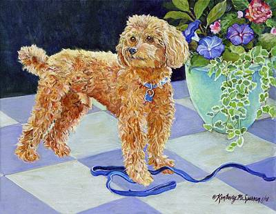Fauna Painting - Jimmy Caruso by Kimberly McSparran