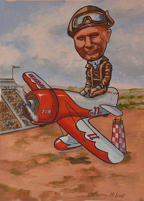Iconic Painting - Jimmy Doolitle by Murray McLeod