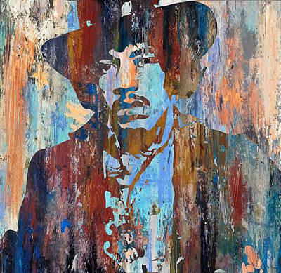 Rock Digital Art - Jimmy Hendrix by Riccardo Zullian