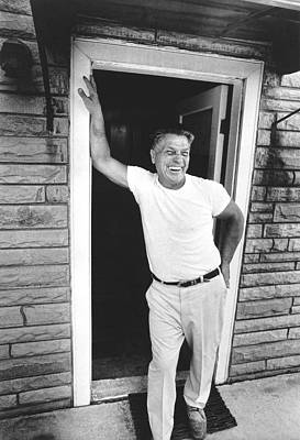 Labor Union Photograph - Jimmy Hoffa Interview by Underwood Archives