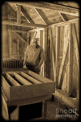 Jimmy In The Old Mt. Cube Sugar House Print by Edward Fielding