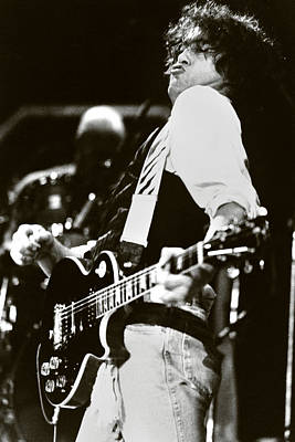 Jimmy Page Photograph - Jimmy Page/ The Firm by Chris Deutsch