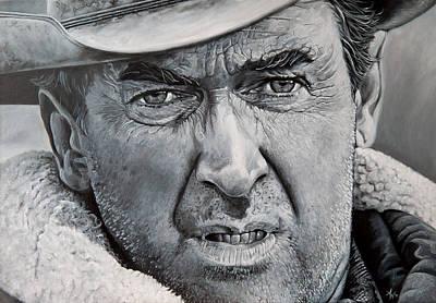 Strict Painting - Jimmy Stewart by Arie Van der Wijst