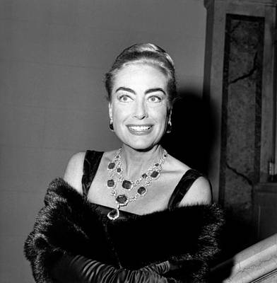 1950s Candids Photograph - Joan Crawford, Ca. Late 1950s by Everett