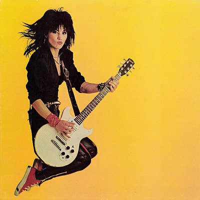 Rolling Stones Photograph - Joan Jett - Album 1983 by Epic Rights