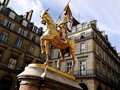 Joan Of Arc  Original by Ira Shander