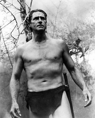 Jock Mahoney In Tarzan Goes To India  Print by Silver Screen