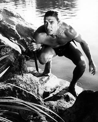 Jock Mahoney In Tarzan's Three Challenges  Print by Silver Screen