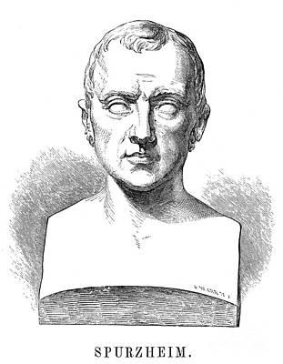 Johann Kaspar Spurzheim Print by Granger