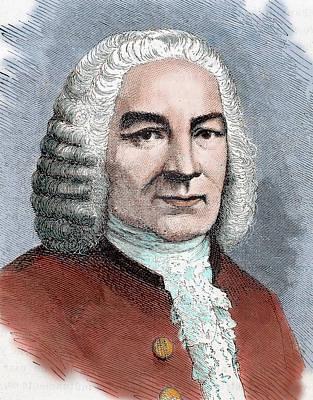 Johann Sebastian Bach (eisenach Print by Prisma Archivo