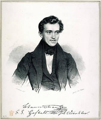 Eliza Photograph - Johann Strauss I by British Library