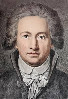 Faust Photograph - Johann Von Goethe by Paul D Stewart