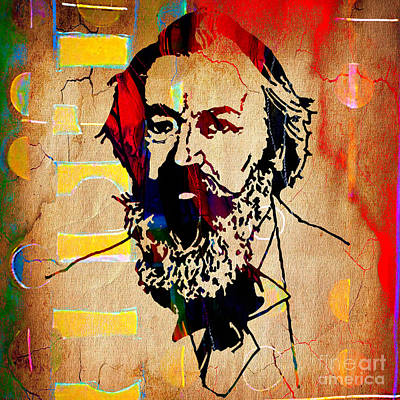 Brahms Mixed Media - Johannes Brahms Collection by Marvin Blaine