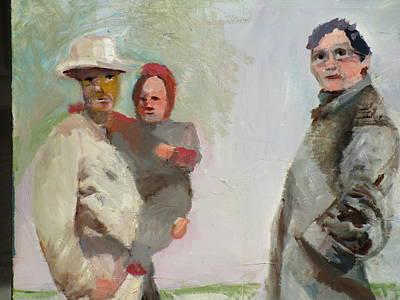 Grandparent Mixed Media - John A And Bonnie by Tanya Radic