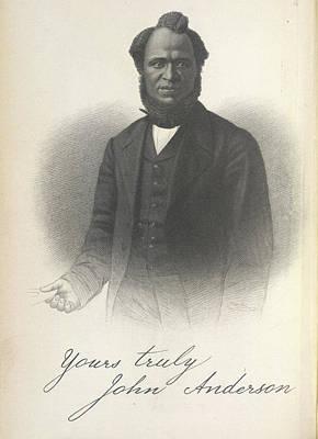 John Anderson Print by British Library