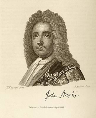 John Anstis Print by Middle Temple Library