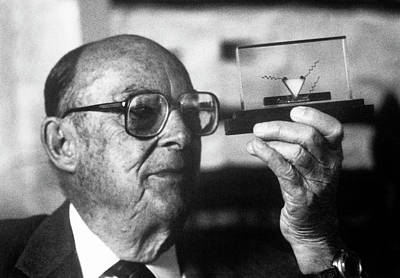 Conductor Photograph - John Bardeen by Emilio Segre Visual Archives/american Institute Of Physics
