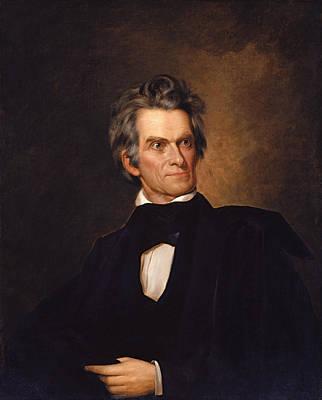 Politics Painting - John C Calhoun  by War Is Hell Store