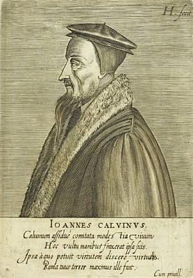 Calvin Photograph - John Calvin by British Library