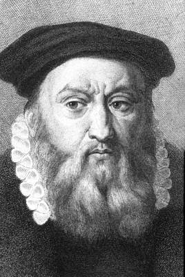Reform Photograph - John Calvin by Collection Abecasis