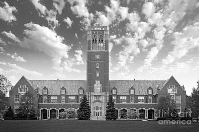 John Carroll University Administration Building Print by University Icons