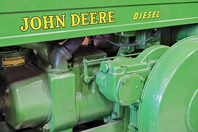 Granger Photograph - John Deere Diesel by Susan Candelario