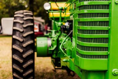 John Deere Tractor Photograph - John Deere Model G by Jon Woodhams