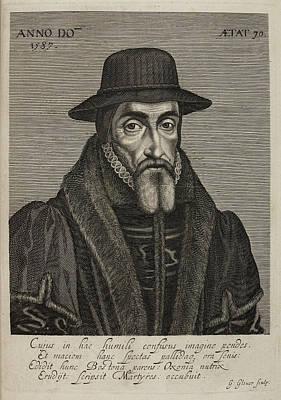 John Foxe Print by British Library