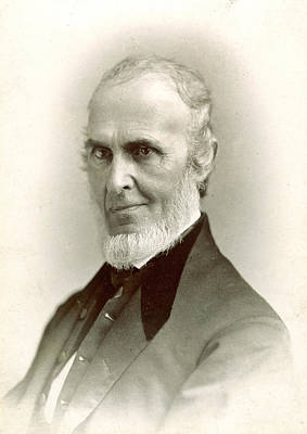 John Greenleaf Whittier (1807-1892) Print by Granger