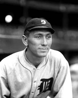Detroit Tigers Photograph - John H. Johnny Neun by Retro Images Archive