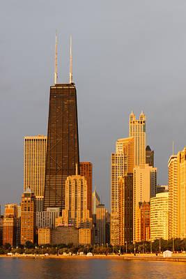 Magnificent Mile Photograph - John Hancock Center Chicago by Adam Romanowicz