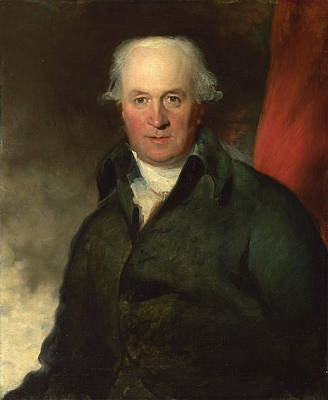 Thomas Lawrence Painting - John Julius Angerstein Aged About 55 by Thomas Lawrence